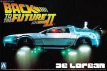 Aoshima 05917 Back To The Future DeLorean from Part II