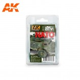 AK-Interactive AK-073 NATO WEATHERING SET