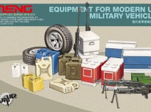 MENG SPS-014 Modern US Military equipment for Vehicles