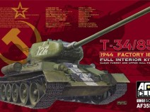 AFV Club AF35S55 T-34/85 Model 1944 Factory №183 с интерьером