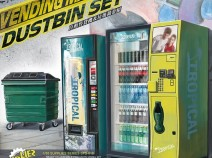 MENG SPS-018 1/35 Vending Machine & Dumpster Set