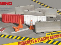 MENG SPS-012 Concrete and plastic barriers set