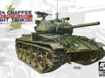 AFV Club AF35210 1/35 M24 M24 CHAFFEE-WW2 BRITISH ARMY