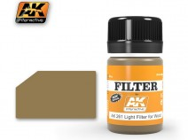 AK-Interactive AK-261 LIGHT FILTER FOR WOOD