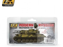 AK-Interactive AK-4160 MODERN RUSSIAN WEATHERING SET