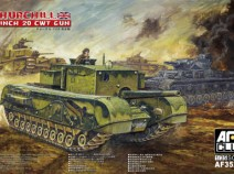 AFV Club AF35253 1/35 WWII British Churchill 3 Inch 20 CWT Anti-Tank Gun