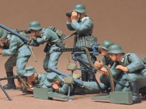 Tamiya 35038  German Machine Gun Troops, 1/35