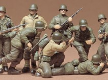 Tamiya 35048 U.S. Infantry Eur Theater, 1/35