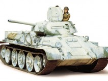 Tamiya 35049 Russian T34/76 Produced in 1942, 1/35
