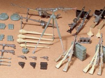 Tamiya 35111 German Infantry Weapons Set, 1/35