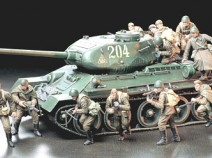 Tamiya 35207 Russian Army Assault Infantry, 1/35