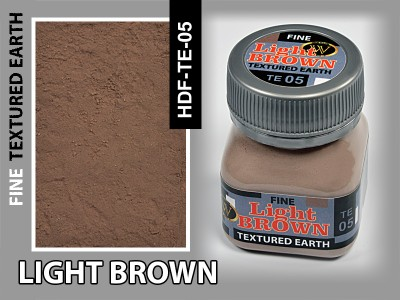 Wilder HDF-TE-05 LIGHT BROWN. FINE TEXTURING EARTH