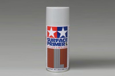 Tamiya 87042 Surface Primer L Gray - 180ml Spray Can