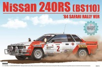"Beemax 24014 Nissan 240RS [BS110] 84"" Safari Rally VER"