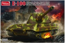 Amusing Hobby 35A015 E-100 GERMAN SUPER HEAVY TANK with Krupp turret