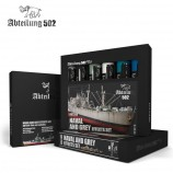 MIG Abt306 NAVAL AND GREY EFFECTS SET