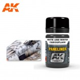 AK-Interactive AK-2074 PANELINER FOR WHITE AND WINTER CAMOUFLAGES