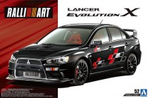 Aoshima 05544 Mitsubishi Lancer Evolution X RalliArt