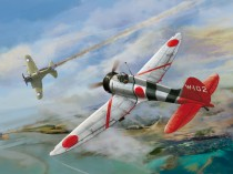"Wingsy Kits D5-02 IJN Type 96 carrier-based fighter IV A5M4 ""Claude"" 1/48"