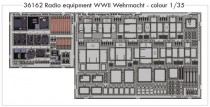 Eduard 36162 Radio Equipment WW2 (цветная)