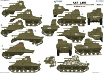 Colibri Decals 72064 M3 Lee in Red Army  Part I