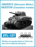 Friulmodel ATL-127 GRIZZLY (Sherman M4A1), SEXTON (Canadian tracks) 1/35