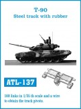 Friulmodel ATL-137 T-90 Steel Track with Rubber 1/35