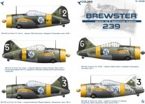 Colibri Decals 72048 Buffalo BW-239 Finnish Aces