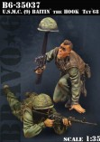 "Bravo-6 35037 U.S.M.C. (9) Baitin"" the Hook, Tet""68"