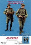 TANK T-35065 Red Army men #4. Summer 1943-45. Two figures, six heads.