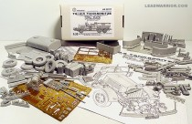 Leadwarrior LW35227 Ts-2,5 Tankspritze Kfz.343 German WWII Fire Engine CONVERSION for ICM/Revell Henschel-33D