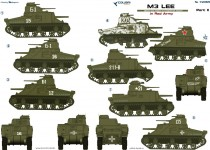 Colibri Decals 72065 M3 Lee in Red Army  Part II