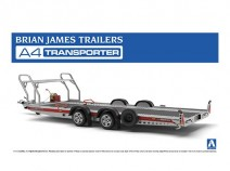 Aoshima 05260 Brian James Trailers A4 Transporter
