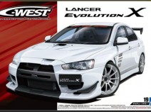 Aoshima 05320 Mitsubishi Lancer Evolution X C-West