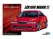 "Aoshima 05357 Toyota Mark II JZX 100 BN Sports Tourer V ""98"