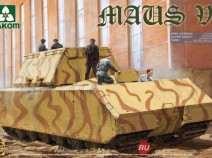 Takom 2049 1/35 WWII German Super Heavy Tank Maus V1 (танк Маус)