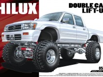 "Aoshima 05097 Toyota HiLux Pickup Double Cab Lift Up ""94"