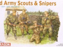 Dragon 6068 1/35 WWII Red Army Russian Scouts & Snipers (4 Figures)