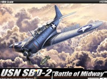 Academy 12296 USN SBD-2 Battle of Midway