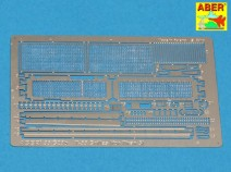 Aber 35 G28 Grilles for Russian tank T-55 also Tiran 5