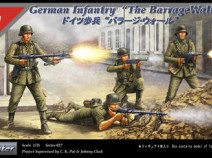 "Tristar 35027 German infantry ""The Barrage wall"