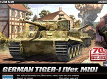 Academy 13287 Tiger I MID Version. Anniversary 70 Normandy invasion 1944.