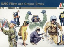Italeri 1246 NATO pilots and ground crew