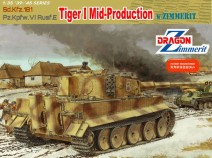 Dragon 6700 Sd.Kfz 181 Pz.Kpfw.VI Ausf.E Tiger I Mid-Production w/Zimmerit