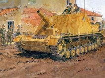 Dragon 6460 SdKfz 166 Brummbar Mid Production