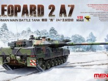 MENG TS-027 1/35 GERMAN MAIN BATTLE TANK LEOPARD 2 A7