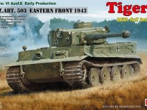 Rye Field Model RM-5003 1/35 Pz.kpfw.VI Ausf. E Early Production Tiger I S.PZ.ABT. 503 EASTERN FRONT 1943 W/Full Interio