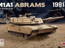 "Rye Field Model RM-5006 1/35 M1A1 Abrams ""Gulf War 1991"