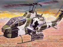 Italeri 0160 вертолет AH-1W SUPER COBRA (1:72)