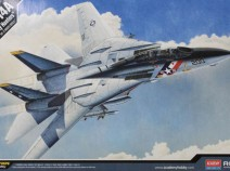 Academy 12532 самолёт F-14A VF-2 Bounty Hunters (1:72)
